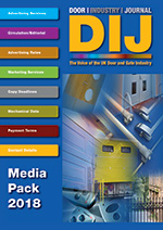 The Door Industry Journal - Media Pack 2018