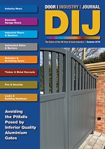 The Door Industry Journal - Summer 2019 Issue