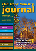 The Door Industry Journal - Winter 2016 Issue