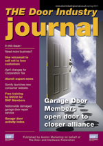 The Door Industry Journal - Spring 2011 Issue