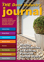The Door Industry Journal - Spring 2016 Issue