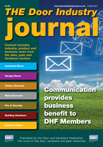 The Door Industry Journal - Winter 2011 Issue